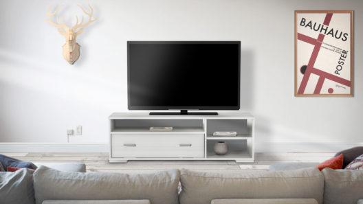 Mesa Baja TV Led con 1 Cajon - 1,35 mts ok