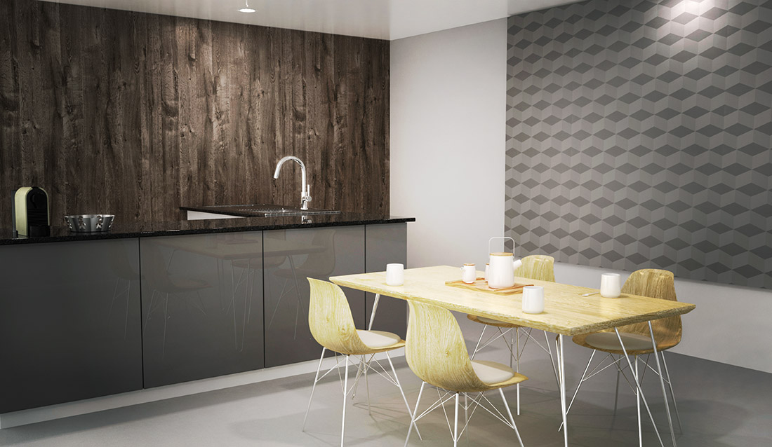 Fiplasto decor tus paredes con placas de revestimiento - Placas decorativas paredes interiores ...